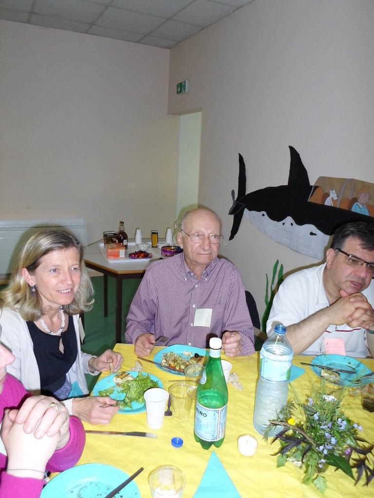 Repas des Sacristains du 21 Mai 2016